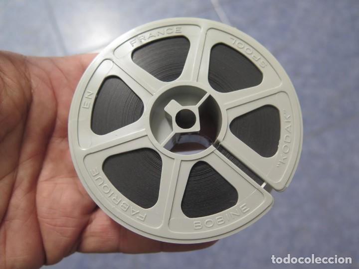 Cine: ANTIGUA BOBINA PELÍCULA-FILMACIONES AMATEUR,De Vendôme á Saint-Malo-AÑOS 80- 6 MM, RETRO VINTAGE - Foto 29 - 194669241