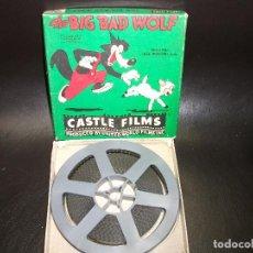 Cine: PELICULA CINE THE BIG BAD WOLF USA DISNEY 16 OR 8 MM CASTLE FILMS LOBO FEROZ Nº 760. Lote 196905723