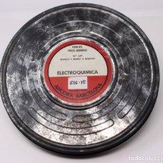Cine: BOBINA DE CINE DE 16 MM. CON DOCUMENTAL ELECTROQUÍMICA. Lote 200117781