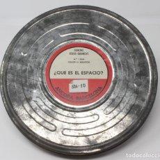 Cine: BOBINA DE CINE DE 16 MM. CON DOCUMENTAL - ¿QUÉ ES EL ESPACIO?.. Lote 200118293