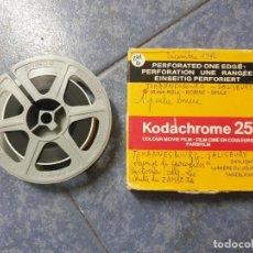 Cine: ANTIGUA BOBINA PELÍCULA FILMACIONES AMATEUR JOHANNESBURG SALISBURY-(1982) 16 MM RETRO VINTAGE . Lote 201110146