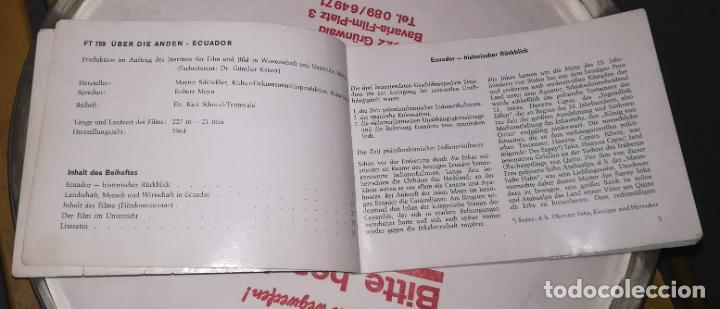 Cine: 16mm ++ Documental ecuador ++ Bobina 300 metros sonido en alemán - Foto 8 - 201248602