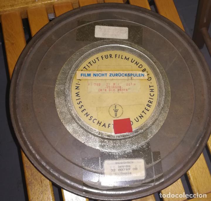16MM ++ DOCUMENTAL ECUADOR ++ BOBINA 300 METROS SONIDO EN ALEMÁN (Cine - Películas - 16 mm)