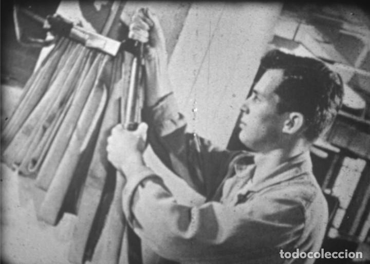 Cine: MOTIVO DE ALARMA - Película educativa de prevención de accidentes. Cine de 16 mm. - Foto 6 - 185735745