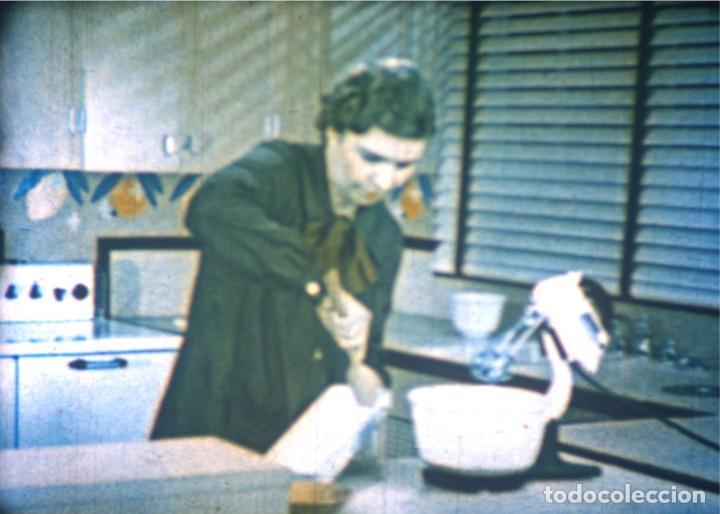 Cine: CABALLOS Y MÁS, AÑOS 50 EE.UU. Película de cine de 16 mm, con imágenes de caballos y otros animales. - Foto 13 - 184727928