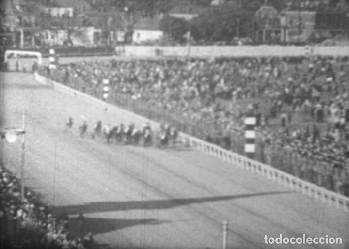 Cine: CABALLOS Y MÁS, AÑOS 50 EE.UU. Película de cine de 16 mm, con imágenes de caballos y otros animales. - Foto 6 - 184727928