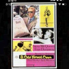 Cine: PELÍCULA DE CINE DE 16MM. COLOR. EL CASO DE THOMAS CRAWN. SONIDO ÓPTICO EN ESPAÑOL.. Lote 205457917