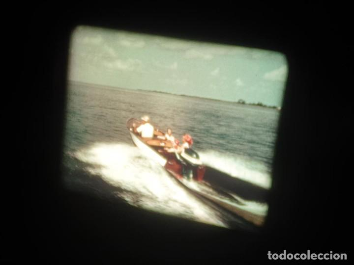 Cine: SPOT-PUBLICITARIO-EVINRUDE - ADVERTISING-16 MM SOUND - RETRO VINTAGE FILM - Foto 7 - 207295821