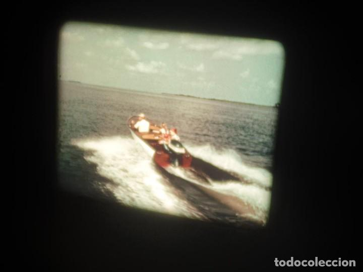 Cine: SPOT-PUBLICITARIO-EVINRUDE - ADVERTISING-16 MM SOUND - RETRO VINTAGE FILM - Foto 8 - 207295821