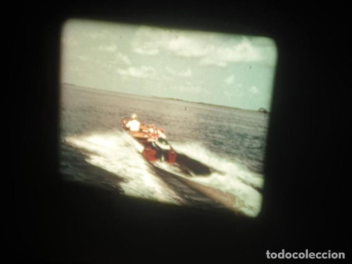 Cine: SPOT-PUBLICITARIO-EVINRUDE - ADVERTISING-16 MM SOUND - RETRO VINTAGE FILM - Foto 9 - 207295821