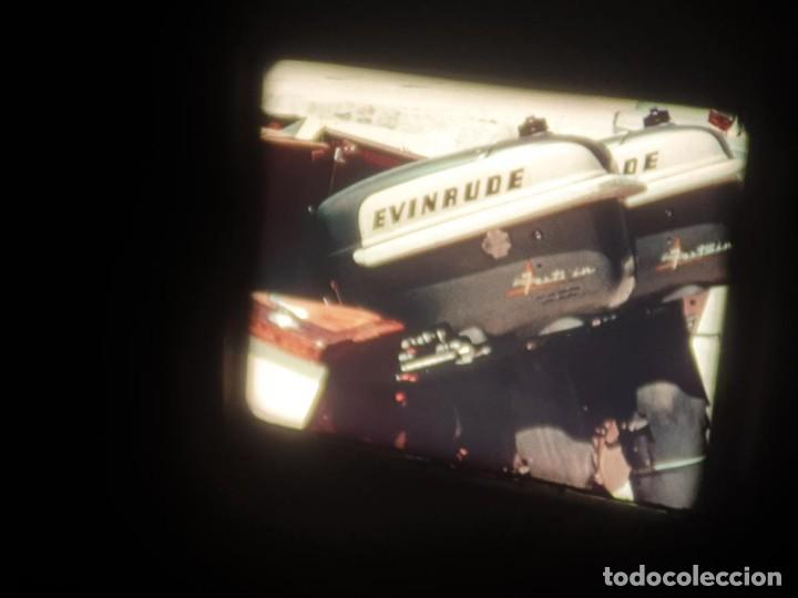 Cine: SPOT-PUBLICITARIO-EVINRUDE - ADVERTISING-16 MM SOUND - RETRO VINTAGE FILM - Foto 26 - 207295821