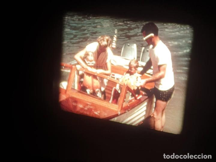 Cine: SPOT-PUBLICITARIO-EVINRUDE - ADVERTISING-16 MM SOUND - RETRO VINTAGE FILM - Foto 30 - 207295821