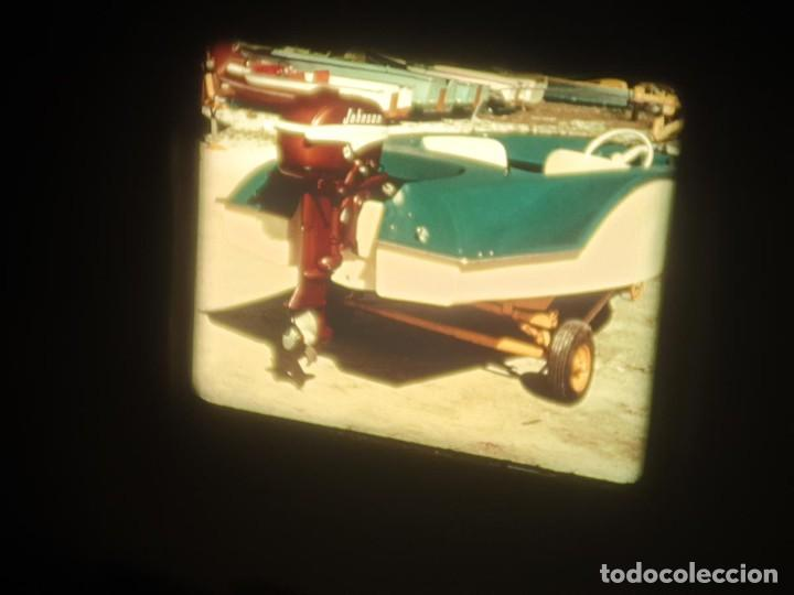 Cine: SPOT-PUBLICITARIO-EVINRUDE - ADVERTISING-16 MM SOUND - RETRO VINTAGE FILM - Foto 32 - 207295821