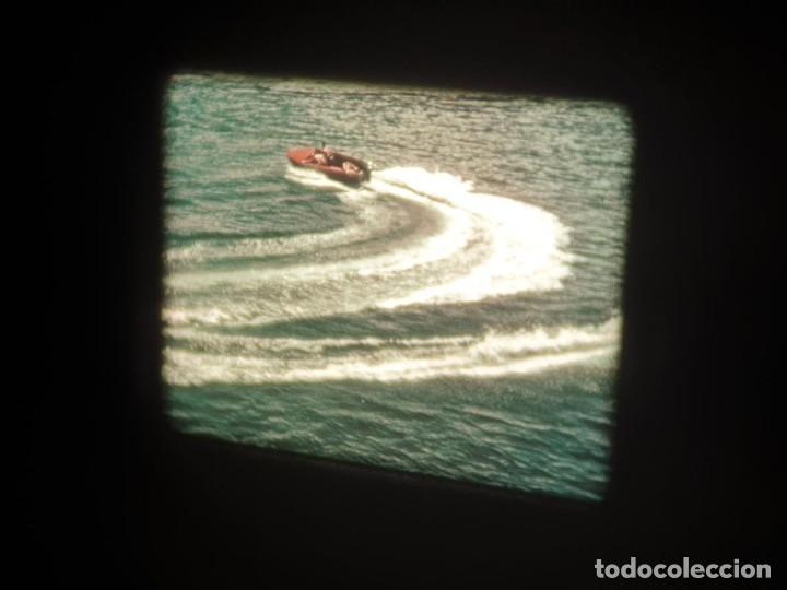 Cine: SPOT-PUBLICITARIO-EVINRUDE - ADVERTISING-16 MM SOUND - RETRO VINTAGE FILM - Foto 40 - 207295821