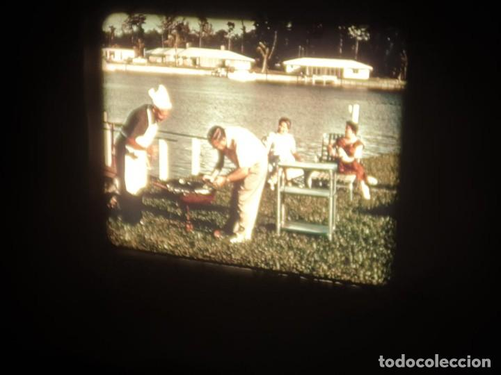 Cine: SPOT-PUBLICITARIO-EVINRUDE - ADVERTISING-16 MM SOUND - RETRO VINTAGE FILM - Foto 43 - 207295821