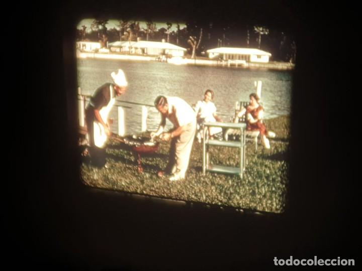 Cine: SPOT-PUBLICITARIO-EVINRUDE - ADVERTISING-16 MM SOUND - RETRO VINTAGE FILM - Foto 44 - 207295821