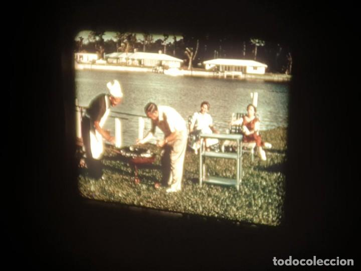 Cine: SPOT-PUBLICITARIO-EVINRUDE - ADVERTISING-16 MM SOUND - RETRO VINTAGE FILM - Foto 45 - 207295821