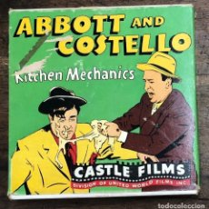 Cine: PELICULA ABBOTT AND COSTELLO. KITCHEN MECHANICS Nº 812. COMPLETE EDITION 16 MM. CASTLE FILMS. Lote 210201595