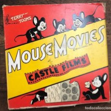 Cine: PELICULA TERRY TOONS. MOUSE MOVIES. Nº 407 JUST ASK JUPITER. COMPLETE EDITION 16 MM. CASTLE FILMS. Lote 210201728