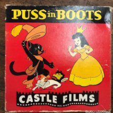 Cine: PELICULA PUSS IN BOOTS. EL GATO CON BOTAS. Nº 762. COMPLETE EDITION 16 MM. CASTLE FILMS. Lote 210201908