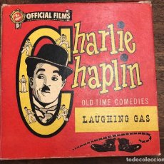 Cine: PELICULA CHARLIE CHAPLIN. LAUGHING GAS. OLD-TIME COMEDIES. Nº 650. OFFICIAL FILMS. Lote 210202017