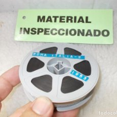 Cine: ENVIO: 4€ ROMA ITALIA 2, AÑO 1953 PELICULA FILM 16MM 12CTM HOME MOVIE !DOCUMENTO UNICO!. Lote 218568410