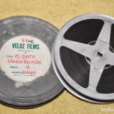 Cine: CORTOMETRAJE DE DIBUJOS - THE ALLEY CAT - EL GATO VAGABUNDO - COLOR - 1941. Lote 220726861