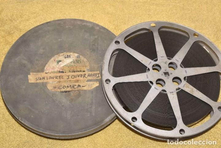 PELICULA COMICA DE STAN LAUREL Y OLIVER HARDY - EL GORDO Y EL FLACO - DOBLE PERFORACION (Cine - Películas - 16 mm)