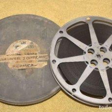 Cinéma: PELICULA COMICA DE STAN LAUREL Y OLIVER HARDY - EL GORDO Y EL FLACO - DOBLE PERFORACION. Lote 240349985