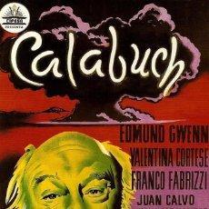 Cinema: CALABUCH. Lote 244660875