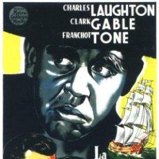 Cine: LA TRAGEDIA DE LA BOUNTY (1935 / IMCOMPLETA). Lote 245503315