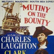 Cine: LA TRAGEDIA DE LA BOUNTY (1935 / INCOMPLETA). Lote 248013385