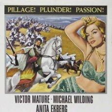 Cine: PELÍCULA LARGOMETRAJE DE CINE EN 16MM ZARAK (1956). Lote 269013424