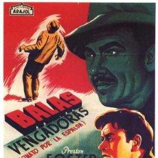 Cine: PELÍCULA LARGOMETRAJE DE CINE EN 16MM BALAS VENGADORAS (YO MATÉ A JESSE JAMES) (1949). Lote 253938570