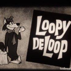 Cine: LOOPY DE LOOP ***THE DO GOOD WOLF *** (CARTOON V.O). Lote 260640310