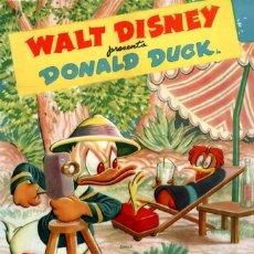 Cinema: DONALD ***CLOWN OF THE JUNGLE*** (1947 / V.O). Lote 266902424