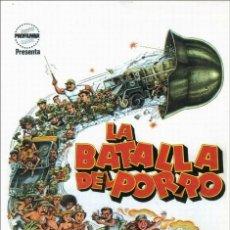 Cine: LA BATALLA DEL PORRO (1981 / VER DESCRIPCIÓN). Lote 269845498