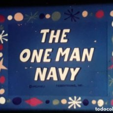 Cine: TERRYTOONS *** THE ONE MAN NAVY ***. Lote 270964838