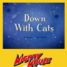 Cine: DOWN WITH CATS. Lote 270980483