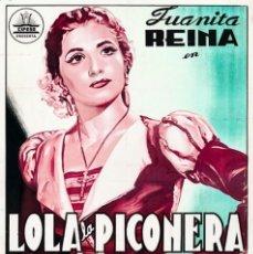 Cine: LOLA LA PICONERA. Lote 280398103