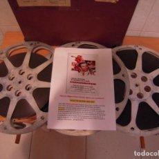 Cine: SOLO SE MUERE UNA VEZ. PELICULA DE CINE EN 16MM COLOR SONORA. Lote 286693878