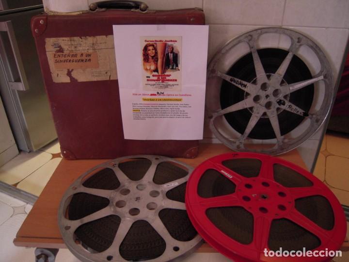 ENSEÑAR A UN SINVERGUENZA -VER FOTOS- CARMEN SEVILLA JOSE RUBIO 1970 PELICULA DE CINE EN 16MM B/N (Cine - Películas - 16 mm)