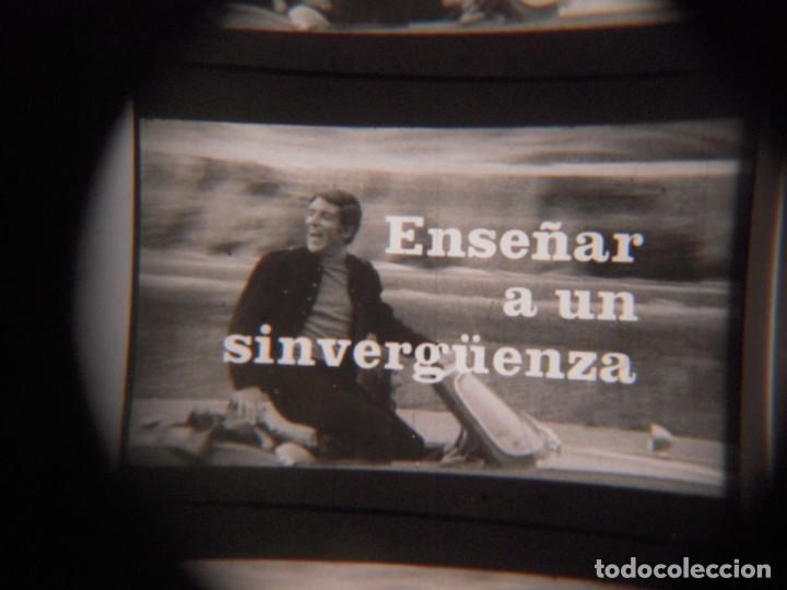 Cine: ENSEÑAR A UN SINVERGUENZA -ver fotos- Carmen Sevilla Jose Rubio 1970 pelicula de cine en 16mm B/N - Foto 6 - 288969068