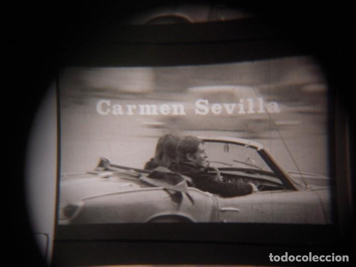 Cine: ENSEÑAR A UN SINVERGUENZA -ver fotos- Carmen Sevilla Jose Rubio 1970 pelicula de cine en 16mm B/N - Foto 4 - 288969068