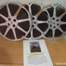 Cine: EL BLANCO, EL AMARILLO Y EL NEGRO -VER FOTOS- GIULIANO GEMMA,ELI WALLACH,TOMAS MILLAN.1975.FILM 16MM. Lote 288972833