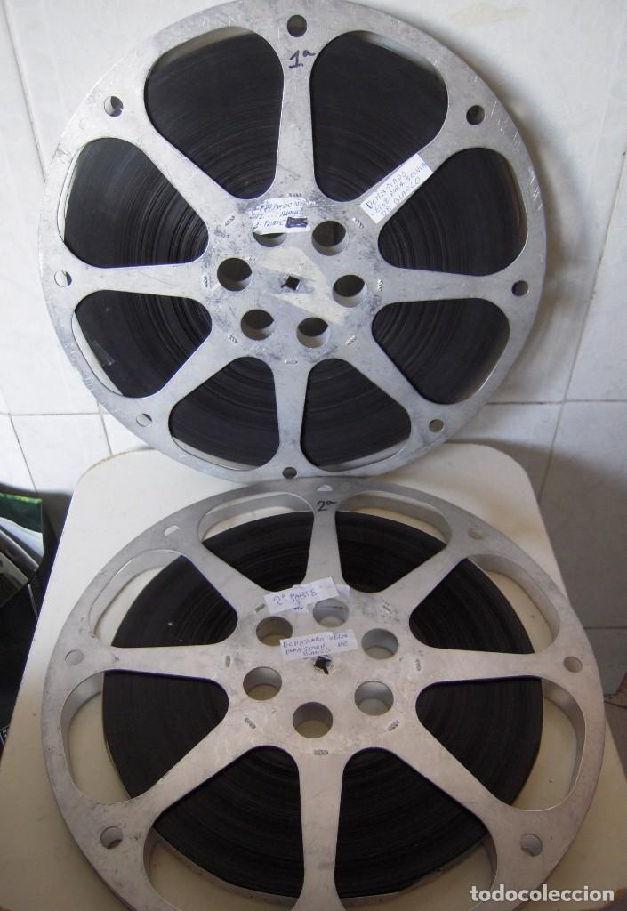 DEMASIADO VELOZ PARA SERVIR DE BLANCO .PELICULA DE CINE EN 16MM.BOBINA 1 Y 2 (Cine - Películas - 16 mm)