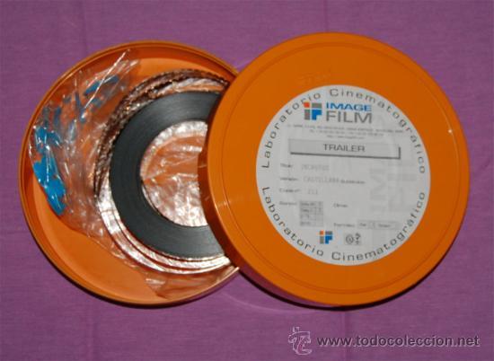 TRAILER PELÍCULA INCAUTOS 35 MM (Cine - Películas - 35 mm)