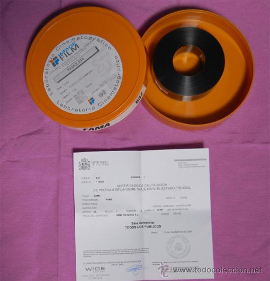 TRAILER PELÍCULA FAMA 35 MM (Cine - Películas - 35 mm)