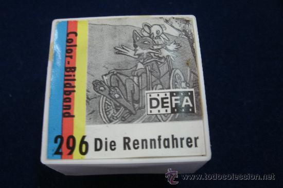 ANTIGUA PELICULA ALEMANA DE 35 MM EN SU CAJA - DIE RENNFAHRER (Cine - Películas - 35 mm)