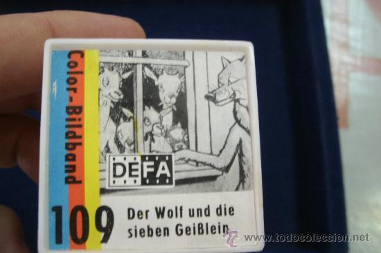 Cine: ANTIGUA PELICULA ALEMANA DE 35 MM EN SU CAJA - DER WOLF UND DIE SIEBEN GEIBLEIN - Foto 7 - 33468408
